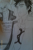 KHR Yamamoto will miss you to squalo by Bluedragoncartoon