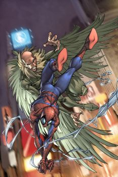 Marvel Age:Spiderman cover 1 by diablo2003