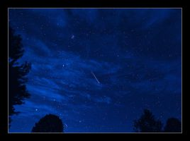 Perseid showers. 800-1840, with story by harrietsfriend