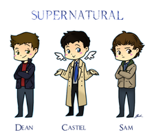 Supernatural by caycowa