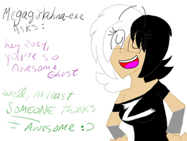 Q 92: at least someone thinks im awesome by LaTigressa1