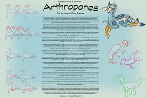 Arthropones - An Arthropod Pony Original Species by Inkhling