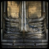Industrial pipes by jennystokes