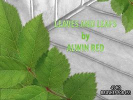 Leaves and leafs by alwinred