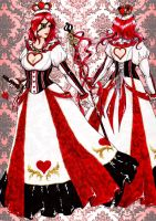 The Queen of Hearts design II by MizuSasori
