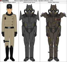 Fallout 3 Enclave Power Armor/Officer Uniform by Tounushifan
