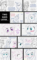Shining Armor gets a foal sitter by HareTrinity