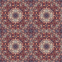 Floral abstract mosaic by kawgraphics