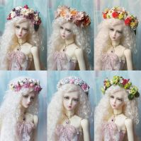 And another new wreaths ^^ by AyuAna