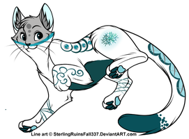Adoptable - Winter - Auction - OPEN by DelennOfMir