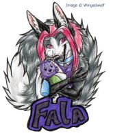 Badge Commission for Fala by neon-possum