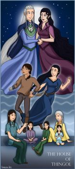 LotR/S: The House of Thingol by Houkakyou
