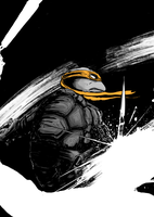 Michelangelo by T-RexJones
