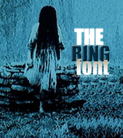 The Ring Font by wherehaveyoubeen