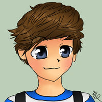 Louis Tomlinson- One Direction by AngelNightmare1441