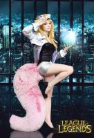 League of Legends - Popstar Ahri cosplay 01 by CZSKLoLCosplayers