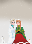 Arendelle Christmas by Phantomania