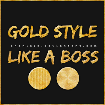 Gold Style by Brenlala