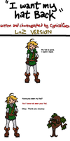 CL9--I WANT MY HAT BACK (LoZ Version) by ccucco