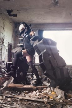 BRS Strength Cosplay by RubeeAmadare