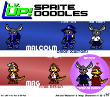 Lv. UP Sprite Doodles 3 by MalamiteLtd