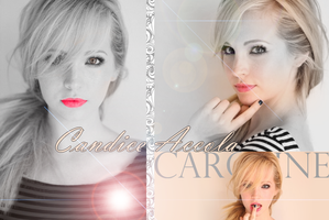 Candice Accola as Caroline by caris94