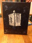 Doctor Who Logo Painting made by WhoIsToKnow by ElviraTepes