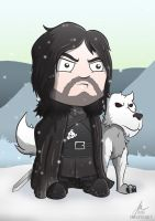 Jon Snow - Game of Thrones by cute-death