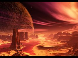 Planet CopperWine by armands