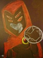 Trigon's slave by turtlegirl110