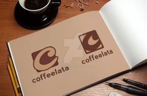Coffeelata Logo Design by snkdesigns