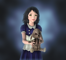 Young Alice wip 2 by tombraider4ever