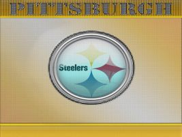 Pittsburgh Steelers Yellow by graffitimaster