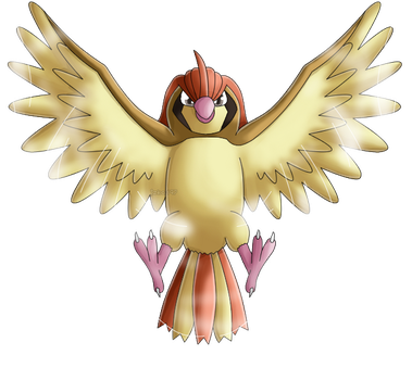 Pokedex 017: Pidgeotto- Whirlwind by izka197