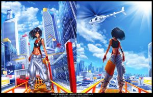 GoG 7 - Mirror's Edge Big by RobDuenas