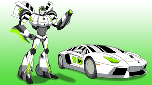 Commission: Ben 10 - Cybertronian Form by Atomic-Chinchilla