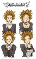The Expressions of Rana by TheDelphina