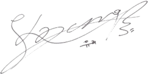 SNSD Yuri Signature ~PNG~ by JaslynKpopPngs