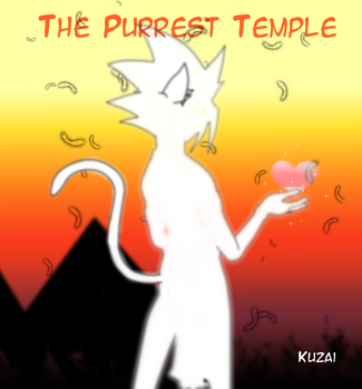 The Purrest Temple by Kuzai