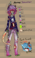 Brewster meh own Zompup OC by FancySmancy-adopts