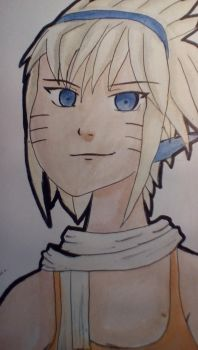 naruto as a girl by mitchycookie