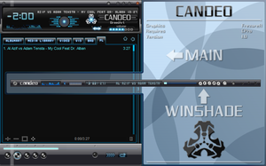 cPro Candeo by frezorer by WinampSkinners