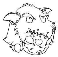 Poro Lineart by SweetnThimble