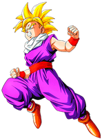 Teen Gohan SS1 by alexiscabo1