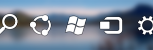 Windows 8 Charm bar icons by fediaFedia