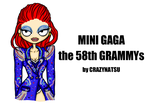 MINI GAGA | The 58th GRAMMYs (Red carpet) by Crazy-Natsu