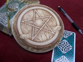 The Lotus Pentacle II by parizadhe