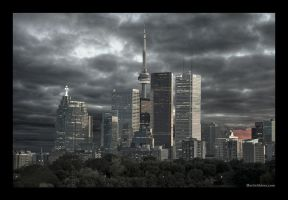 Toronto from Broadview by martinshiver
