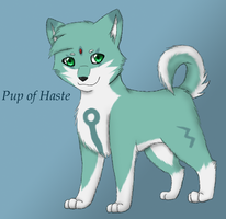Pup of Haste by MiaMaha