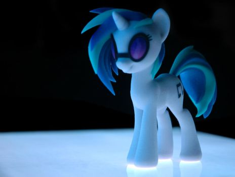 Shapeways DJ Pon3 - El Panel by SDC2012
